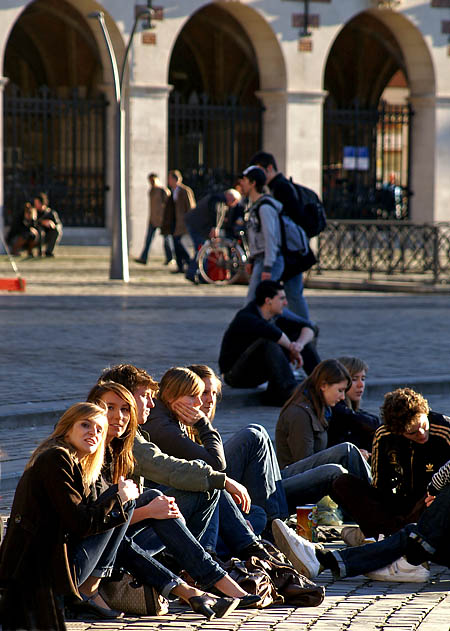Students @ LadeuzepleinLeuven