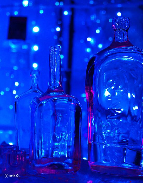 bottles of ...